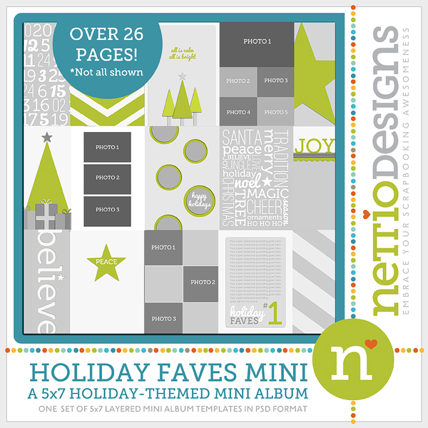 Nettio HolidayFavesMini preview