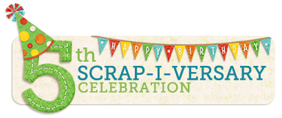 5thscrapiversary logo web
