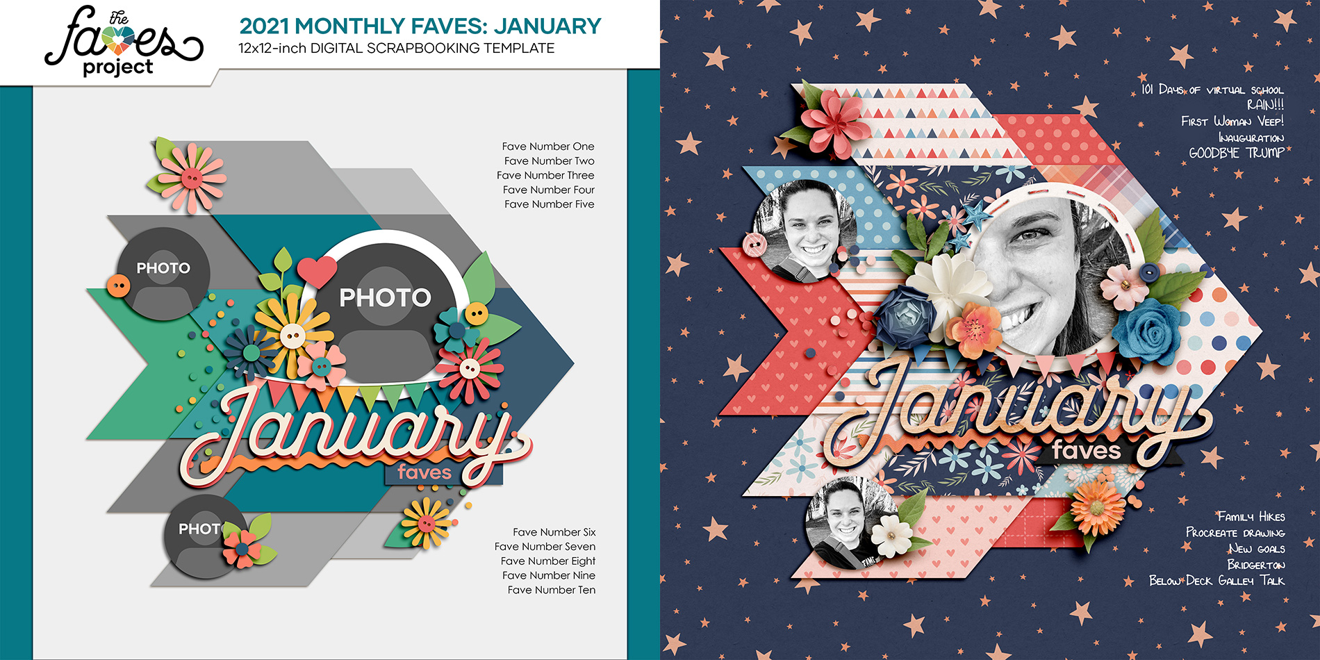 The Faves Project | NettioDesigns width=